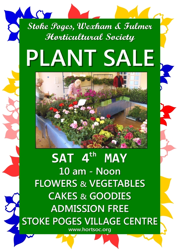 Plant Sale 4thMay